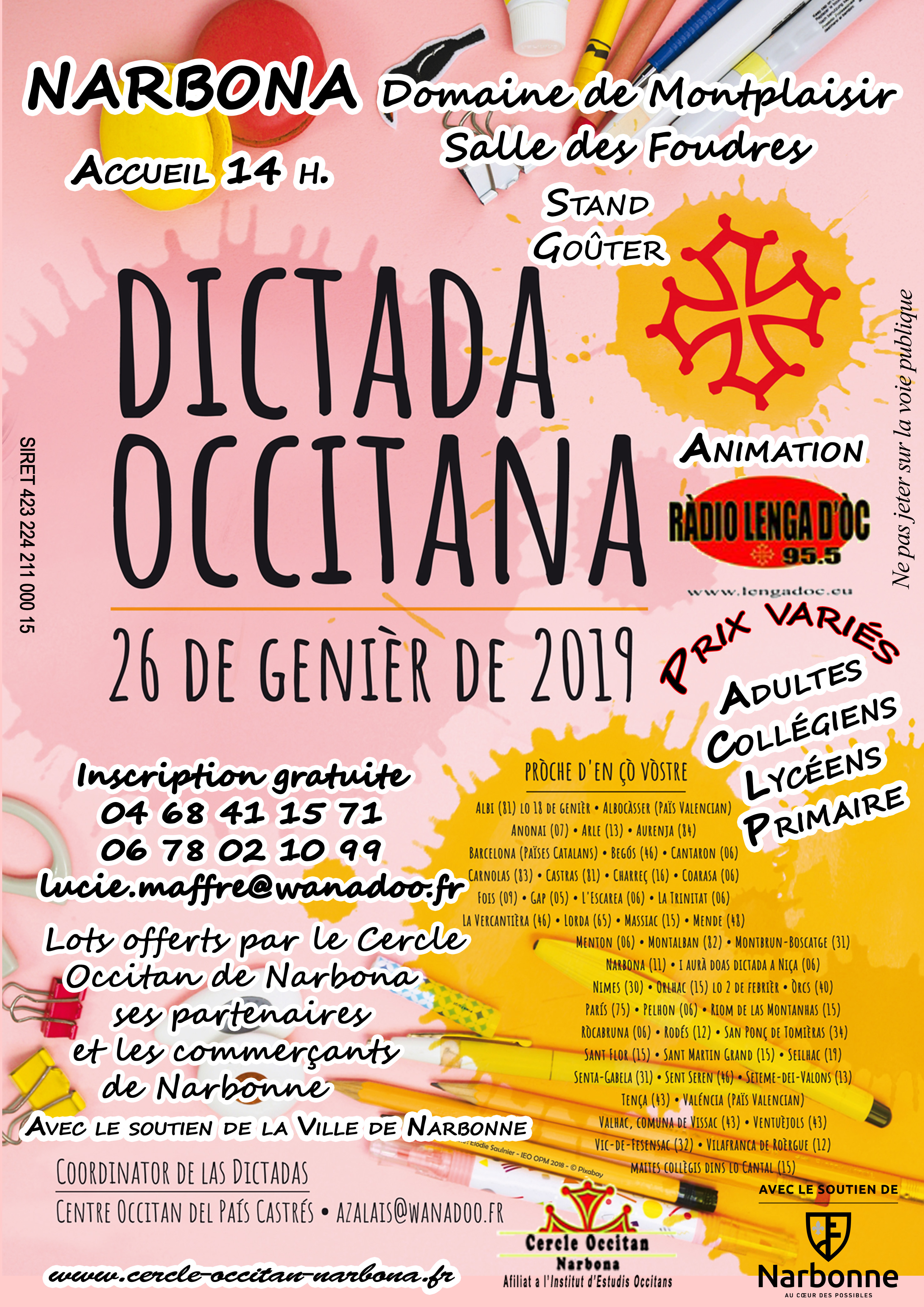 flyer dictada Cerc 2019 copie